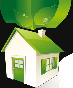 grønt hjem